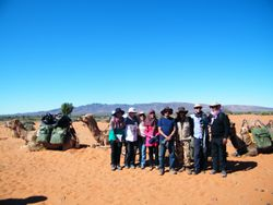 Youth Groups and Church Groups enjoying the wonders of camel trekking in the Australian Outback.