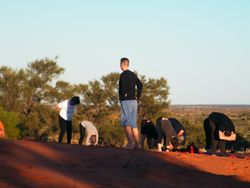 The peace of the outback