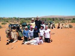 Group Bonding on a Camel Safari