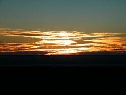 Beltana Station Camel Safaris Sunset