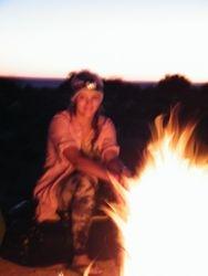Campfire Gazing, Beltana Station Camel Safaris, South Australia