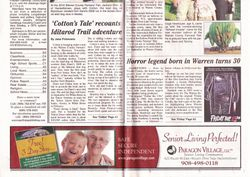 The Warren Reporter (Front Page - Page 1)