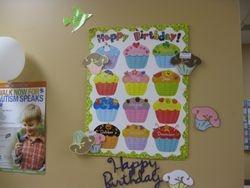 Birthday Celebration chart
