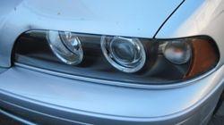 2001 BMW 540i left after