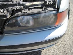 BMW 540i left after