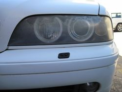 2000 BMW 525 before
