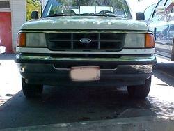 Ford Ranger before