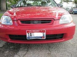 1999 Honda Civic after