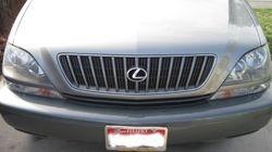 Lexus LX300 front after