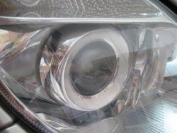 2003 Mercedes E500 right closeup after