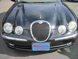 2003 Jaguar S-type before