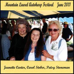 Mountain Laurel Autoharp Gathering in Pennsylvania