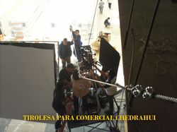 filmación de comercial