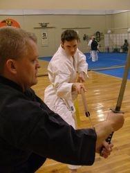 Samurai Night at the dojo