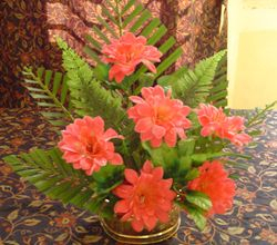 full circle flower arrangement