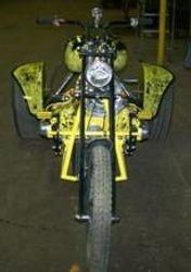 street trike with fenders