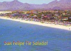 San Felipe from the air