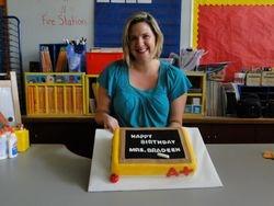 Kindergarten Teachers birthday