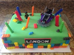 Lego and Let Landon Party