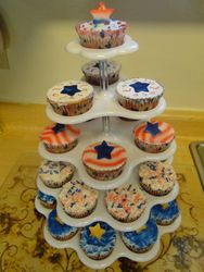 4 of July Cupcakes