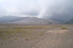 kawah belerang or sulfur crater