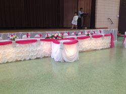 wedding headtables