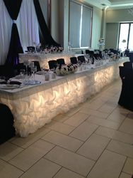 wedding headtables decoration