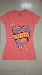 Ladies Half Sleeve Printed T-Shirts