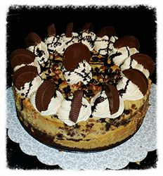 Chocolate Peanut Butter Candy Cheesecake