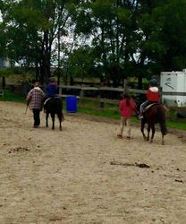 Ponies and our first time riders