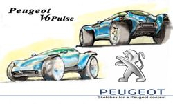Peugeot Pulse coloured.