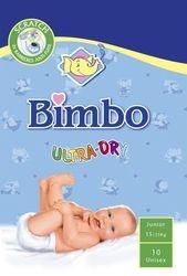 Faderco:' Bimbo' baby diapers.