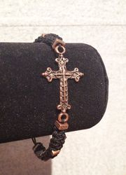Shamballa croix bronze