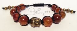 Shamballa drongon veins orange boudha bronze