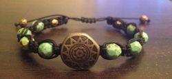 Shamballa bronze turquoise