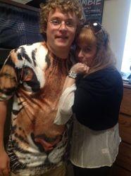 """Brad in his """"BIG CAT"""" shirt!"""