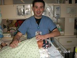 Ben's favorite nurse Rich