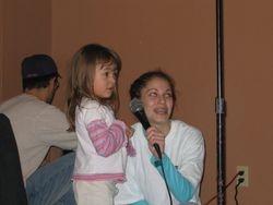 Singing karaoke with K2Karaoke