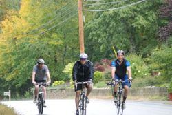 Riders from Brockton Travis Cycle