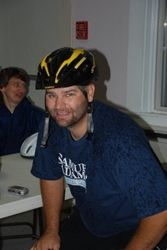 Johnny getting ready to ride the 10 mile