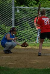 Shawn catching for Team Christ