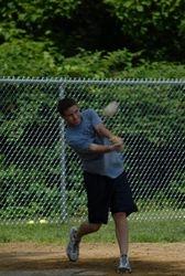 Justin swinging