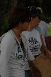 Jess picking raffle winners