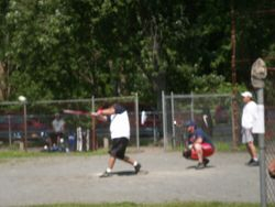 Johnny at bat