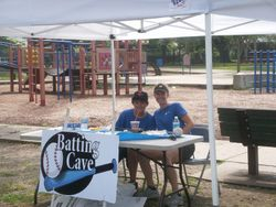 Marli & Brendan from the Batting Cave in Middleboro