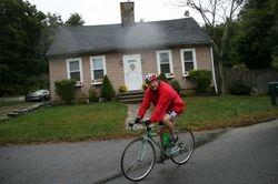 Mitch enjoyed the ride