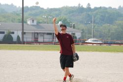 Christian throwing one in