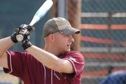 Joe at bat