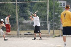 Brandon at bat