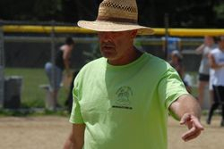 Our incredible umpire, Ed!